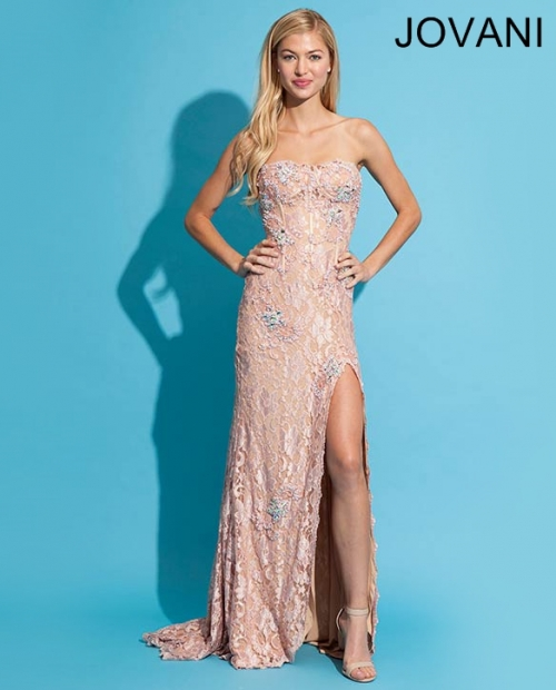 Beautiful Long Lace Prom Dresses 2014 | Prom Night Styles